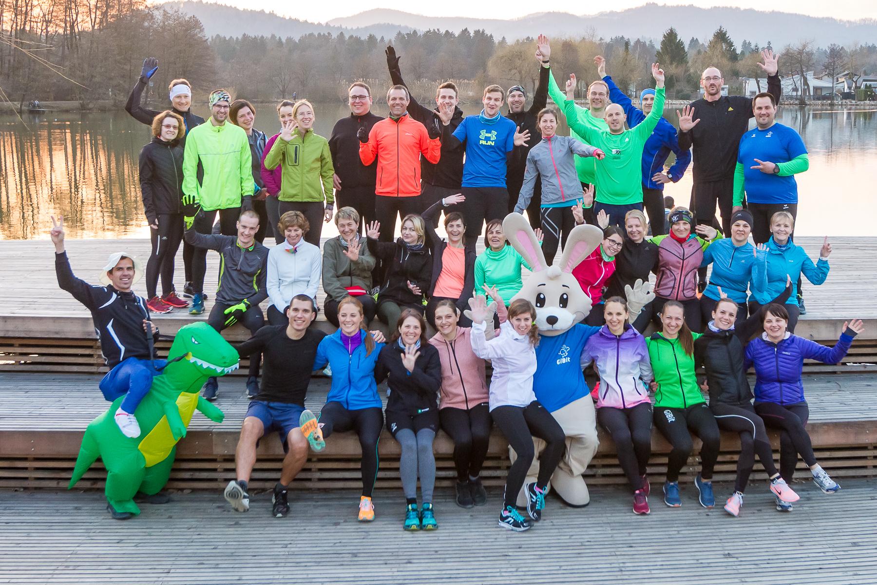 Priključi se najbolj kul tekaški skupini v Ljubljani